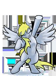 Dancing pony