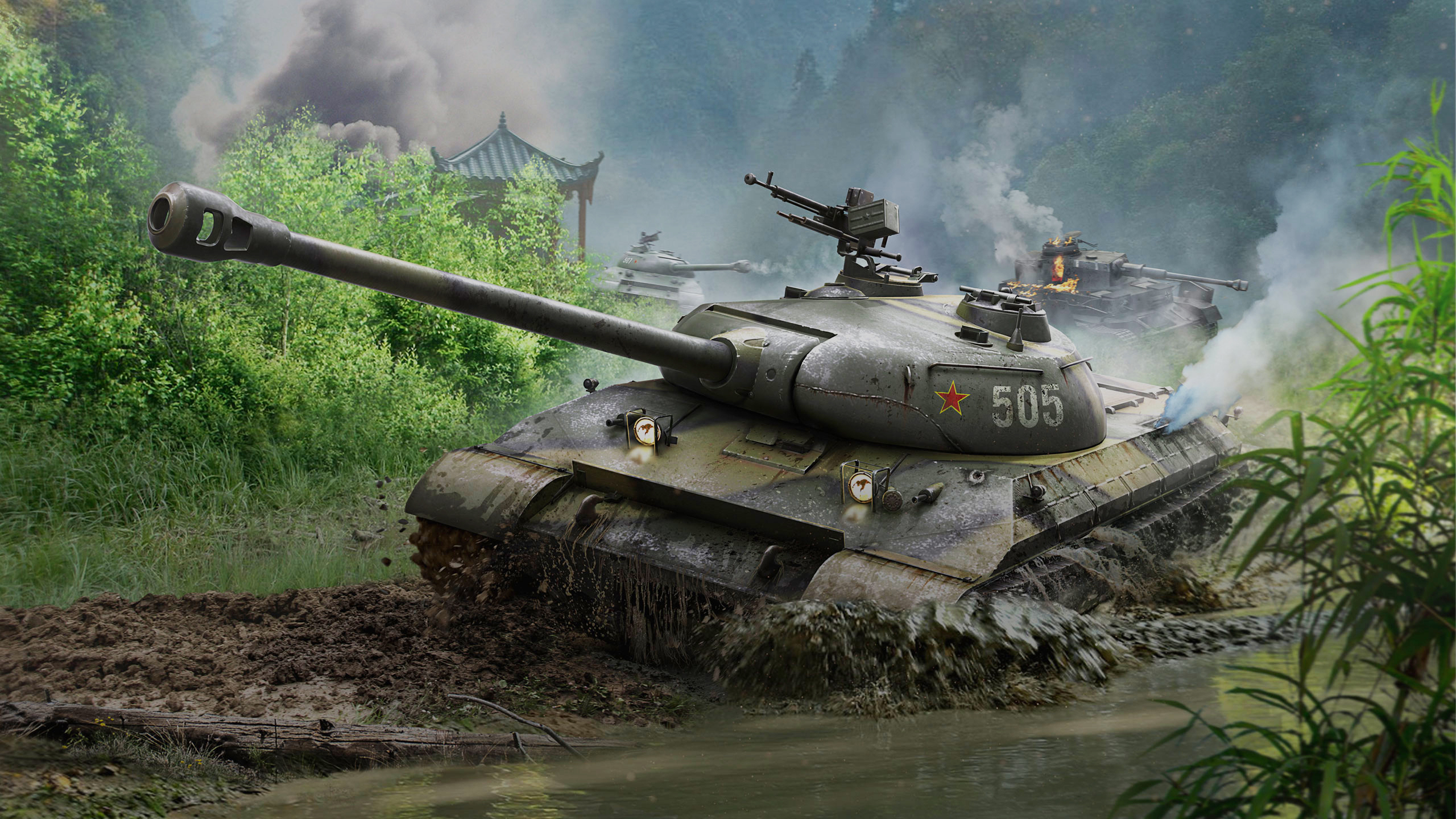 рисунок World Of Tanks WZ-111