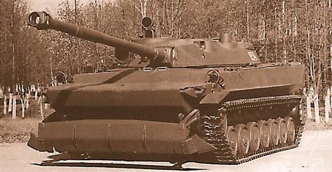 «Объект 934» - лёгкий плавающий танк (ОКР «Судья») 2zANL
