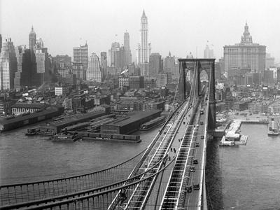 Бруклинский Мост и Бруклин.