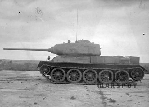 Т-43 - средний танк (1942 г.), опытный Dyeuj