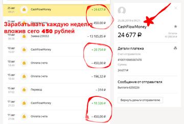 Заработок 20 000 руб. каждую неделю