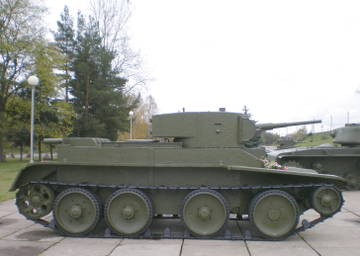 БТ-5 - лёгкий колесно-гусеничный танк FDEPL