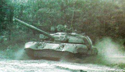 «Объект 478Д» - опытный основной боевой танк HpW6L