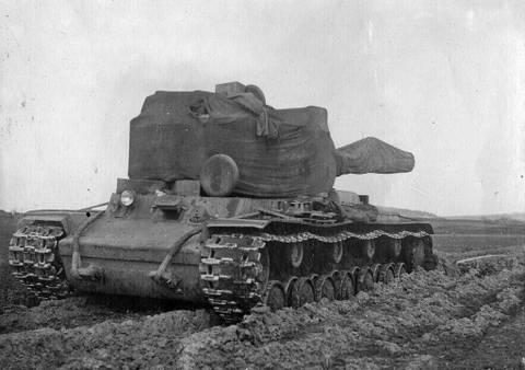 Т-220 («Объект 220», КВ-220, КВ-4) - опытный тяжёлый танк KFa3n