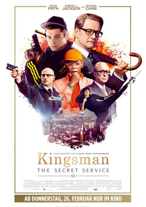 Kingsman: Секретная служба Kingsman: The Secret Service