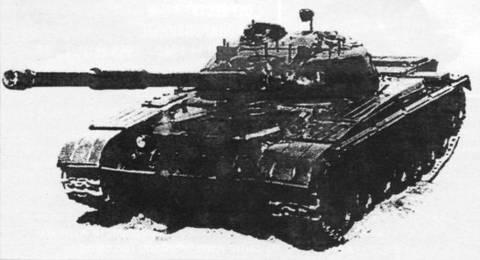 «Объект 021» - ходовой макет перспективного танка WQEuB