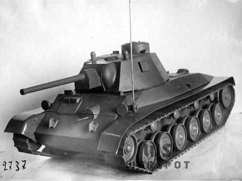Т-43 - средний танк (1942 г.), опытный WalIP