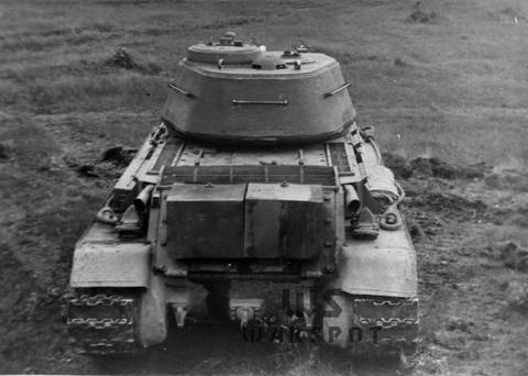 Т-43 - средний танк (1942 г.), опытный YrE1y