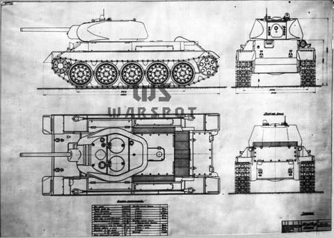 Т-43 - средний танк (1942 г.), опытный AXgrS