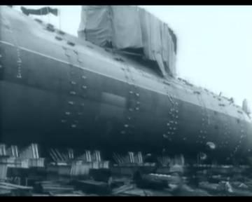 Проект 685 «Плавник» - опытная глубоководная торпедная атомная подводная лодка Bxew4