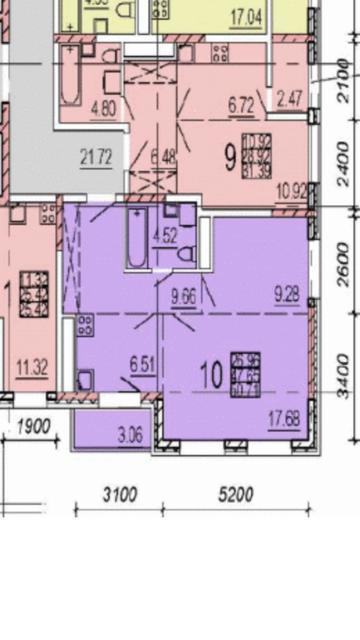 Куплю 2 комнатную квартиру в Молодежном 4