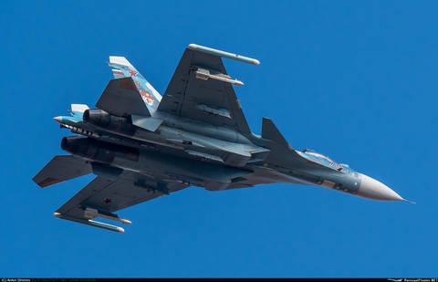 Су-33 (Су-27К / Т-10К) - корабельный истребитель O4g5h