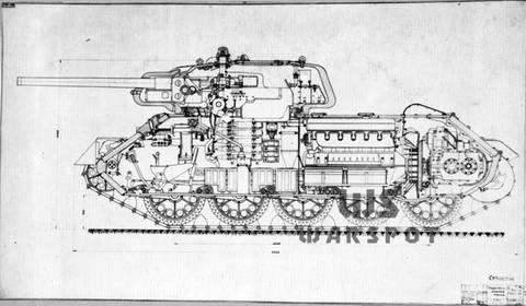 Т-43 - средний танк (1942 г.), опытный V3jWE
