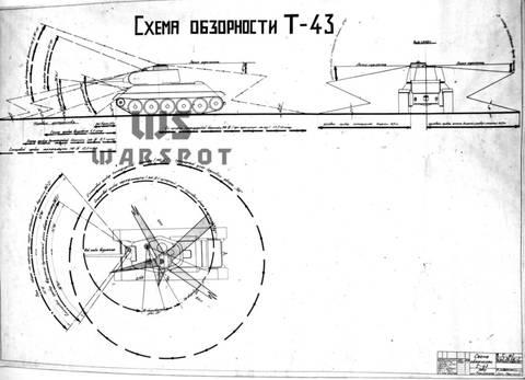 Т-43 - средний танк (1942 г.), опытный VkKiY
