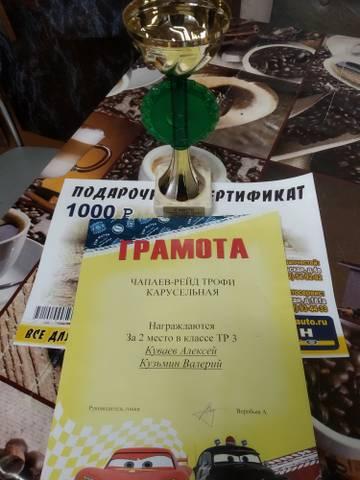 «чапаев Рейд – Трофи» Карусельная»